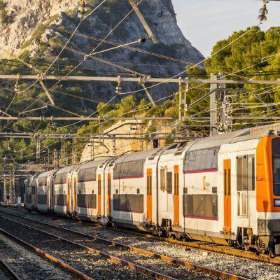 Moure's en Rodalies Renfe per Barcelona
