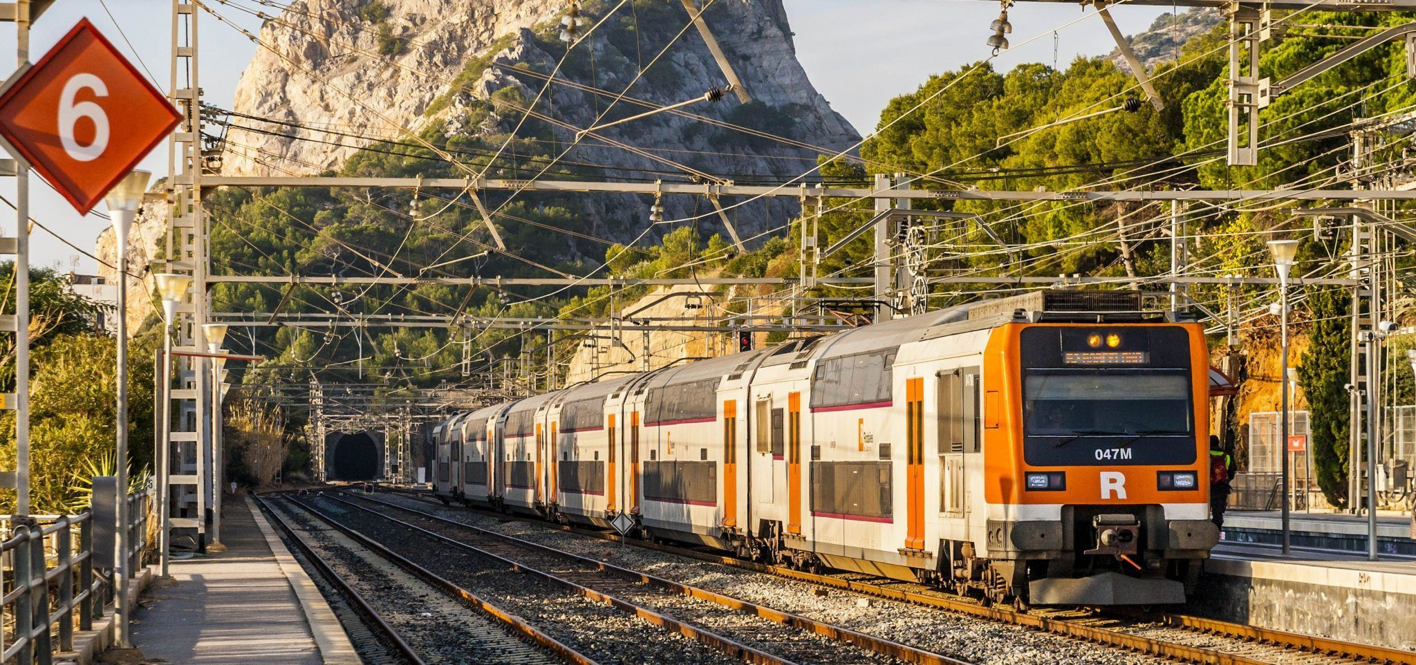 Getting Around Barcelona by Renfe Train