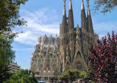 Sagrada Familia of Barcelona