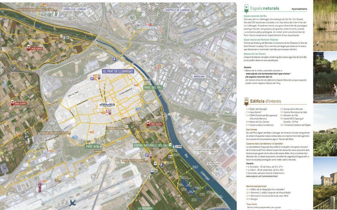 Planos turísticos del Prat de Llobregat